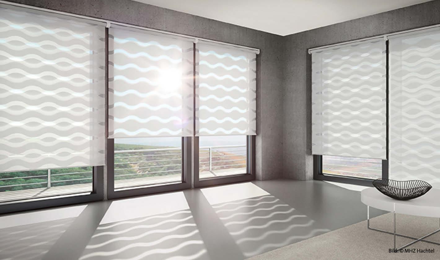 Neu Sonnenschutzrollo, modern klar und gradlinig EN28