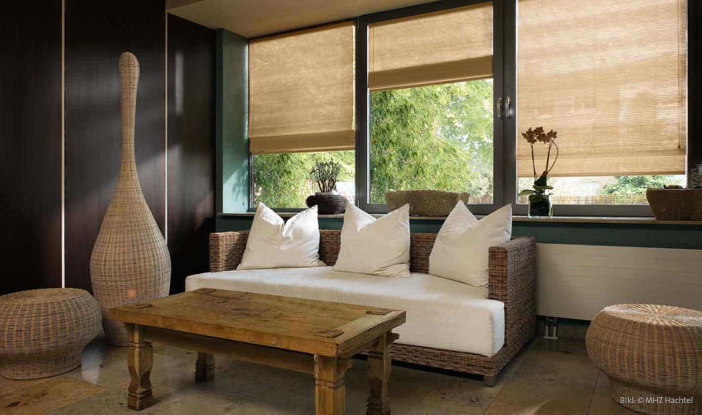 holzjalousien naturwerkstoff holz als dekorativer aspekt. Black Bedroom Furniture Sets. Home Design Ideas