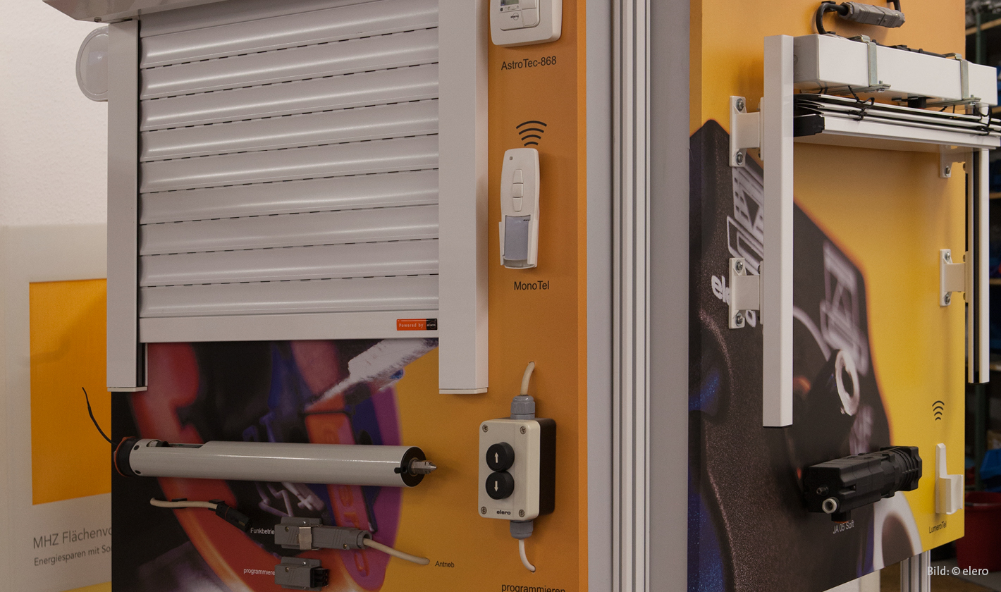 Elektosteuerung & Motor - Ausstellung