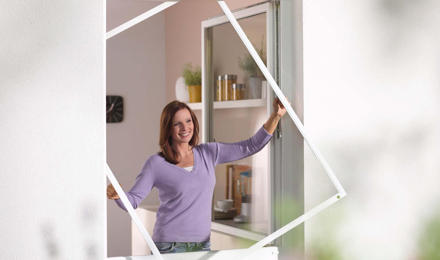 insektenschutz f r helle und luftige r ume von neher. Black Bedroom Furniture Sets. Home Design Ideas