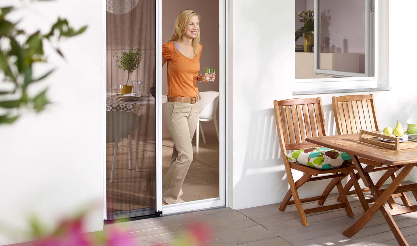 Insektenschutz Plissee Tür, Rolladen Widmaier - Renningen